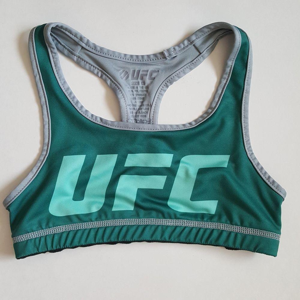 Ufc womens sports bra racerback green xs UFC SportsBras