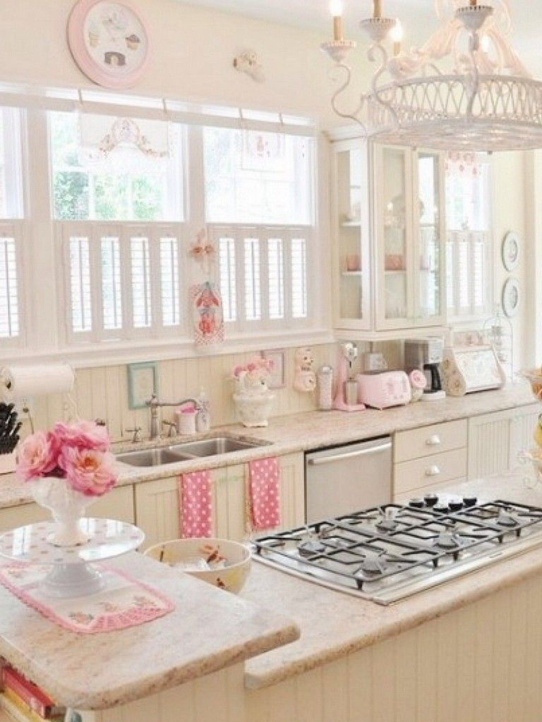 70 Graceful White Shabby Chic Kitchen Wall Shelves Shabby Chic