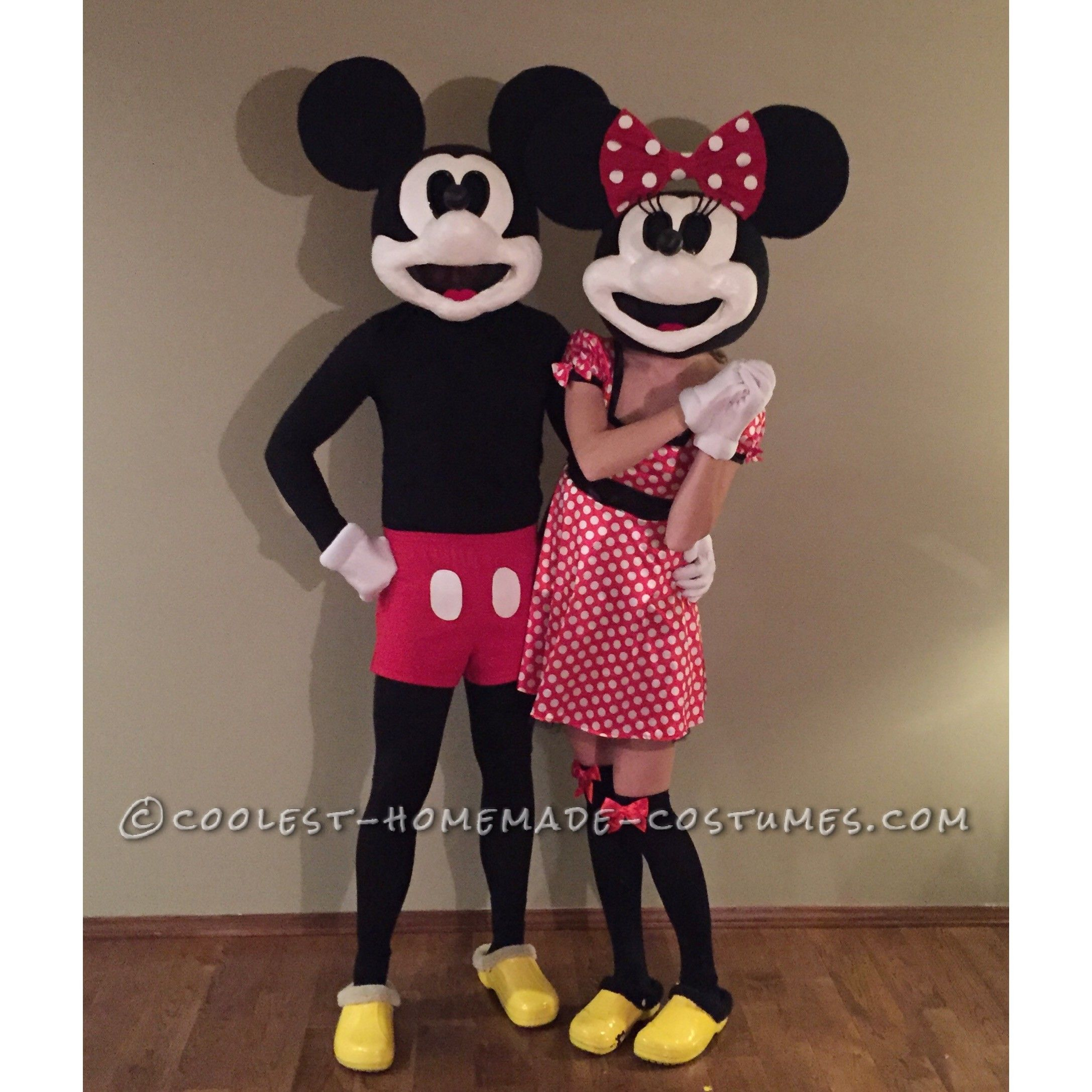 Vintage Mickey And Minnie Mouse Costume Coolest Halloween