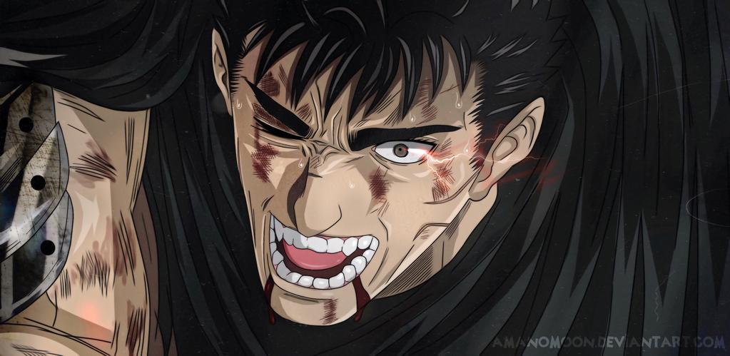 Berserk Guts Gatsu Eclipse Anime 2018 Manga by Amanomoon