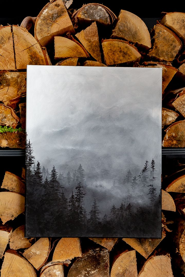 Misty Forest Painting - Video