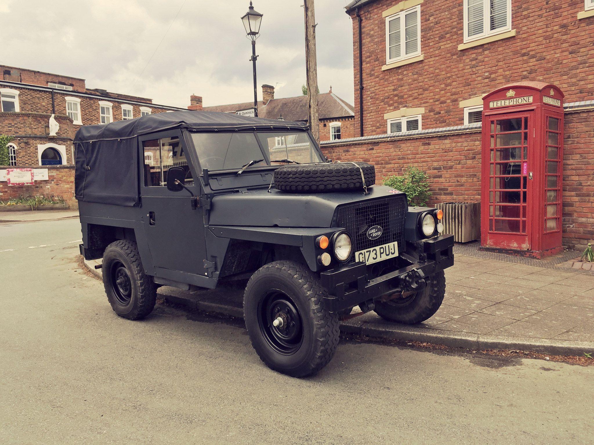 Lightweight Landrover Land Rover Land Rover Defender Land