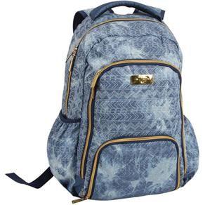 Mochila Escolar Jeans Étnico Capricho - Dmw   mochilas , malas ... 927eb2f8d7