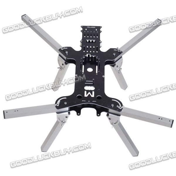 MF 500mm Aluminum Tube Folding Four-axis Alien Quadcopter Aircraft ...
