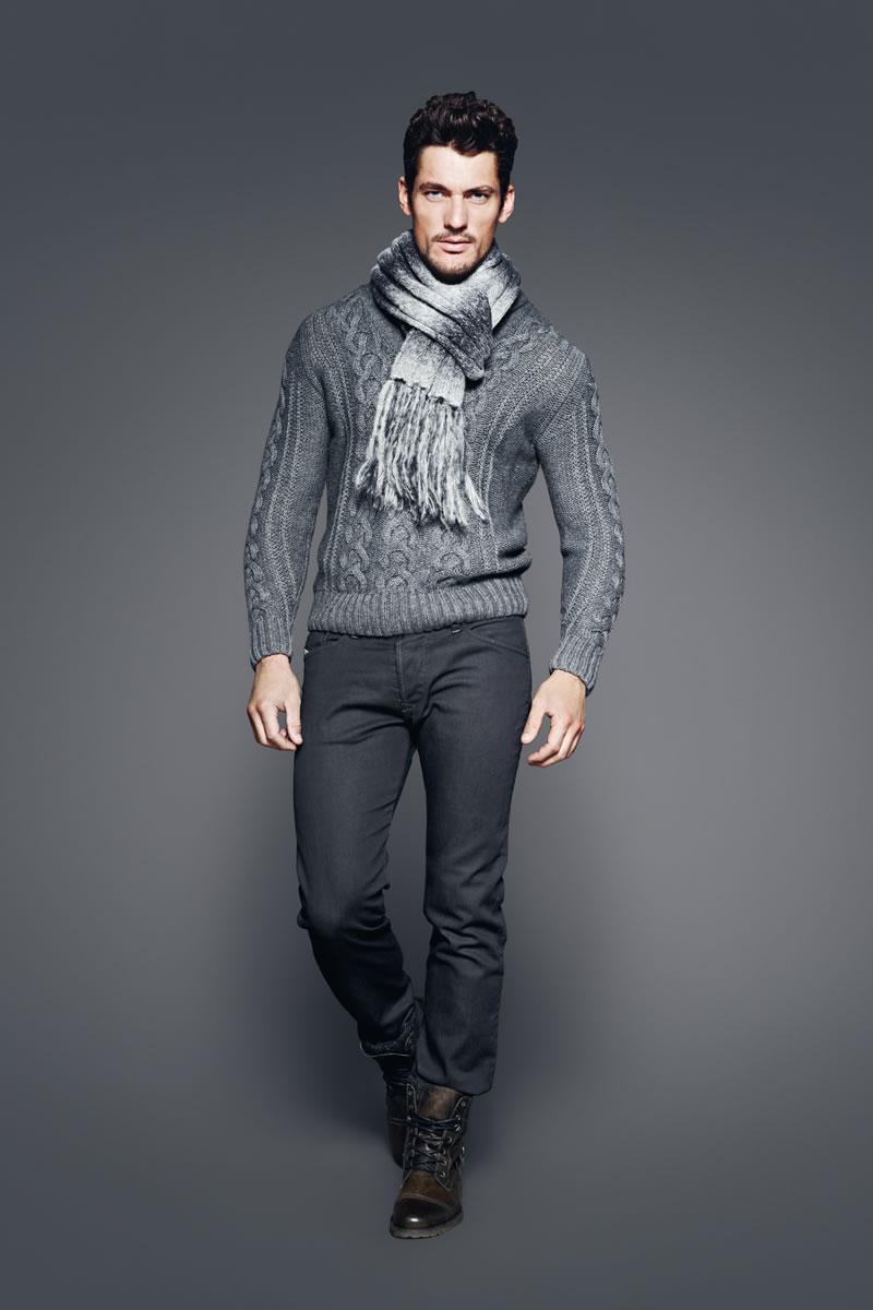 Shiny Shiny Gray David Gandy Well Dressed Men Mens Outfits [ 1200 x 800 Pixel ]