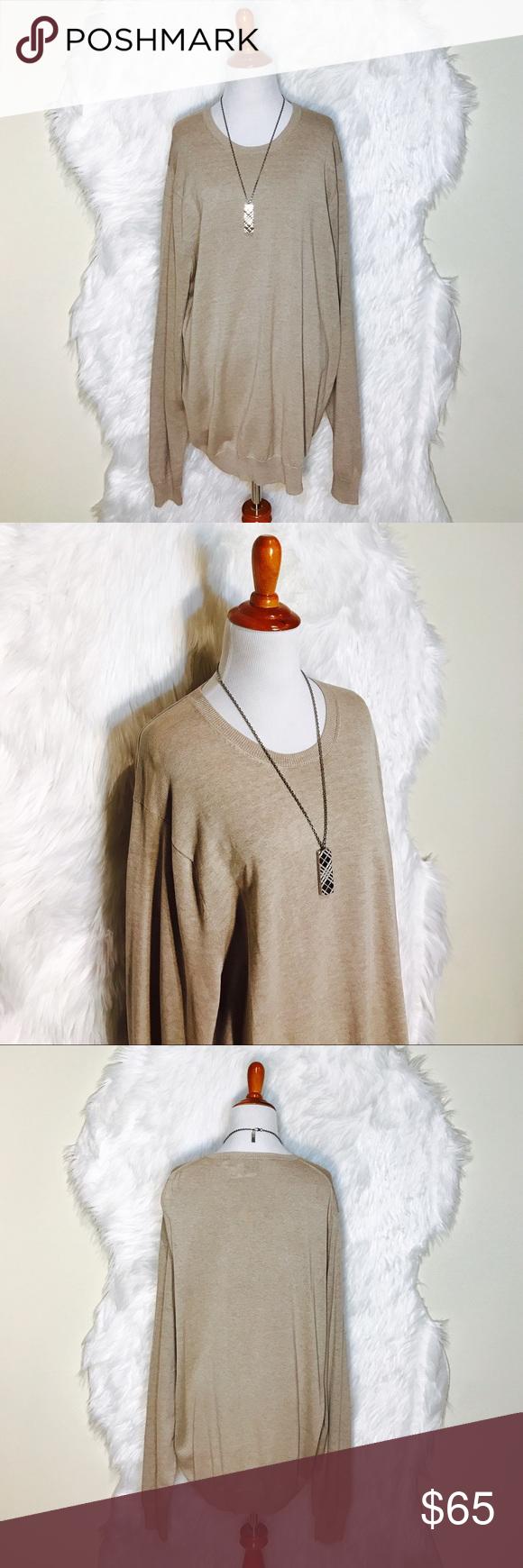 Black Saks Fifth Avenue Light Brown Sweater NWT | Light browns ...