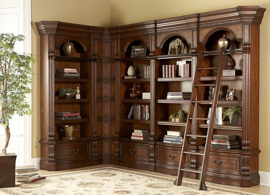 Home Offices, Van Buren Museum Library Wall, Home Offices | Havertys  Furniture