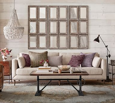 Good Size For Living Grand Sofa Overall 95 Wide X 40 Deep 31 High Diagonal Depth 35 Inside Seating 75 23 5 Tallulah Upholstered