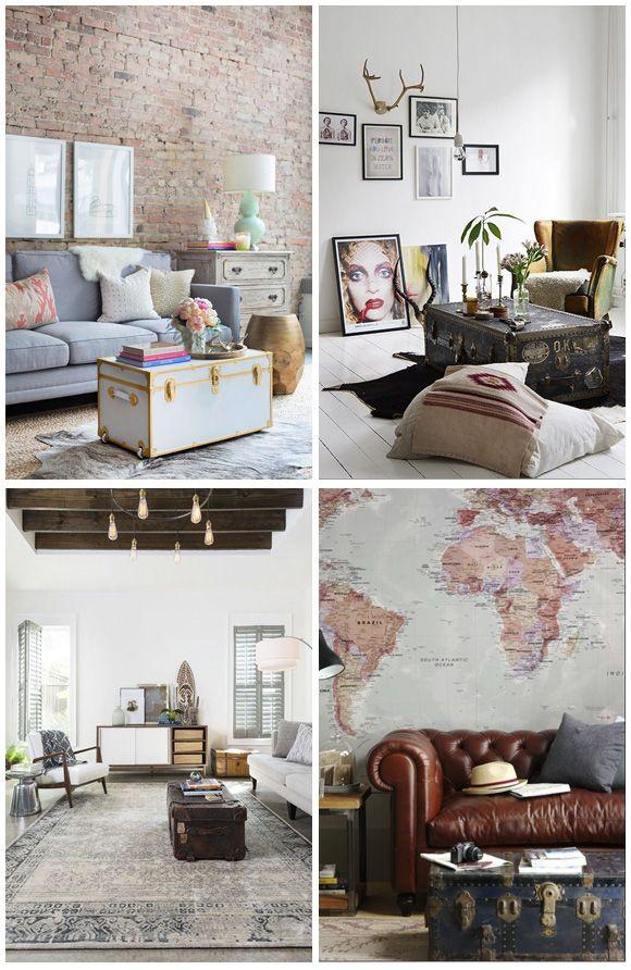 1f35c60919724 Baúles antiguos para decorar tu casa