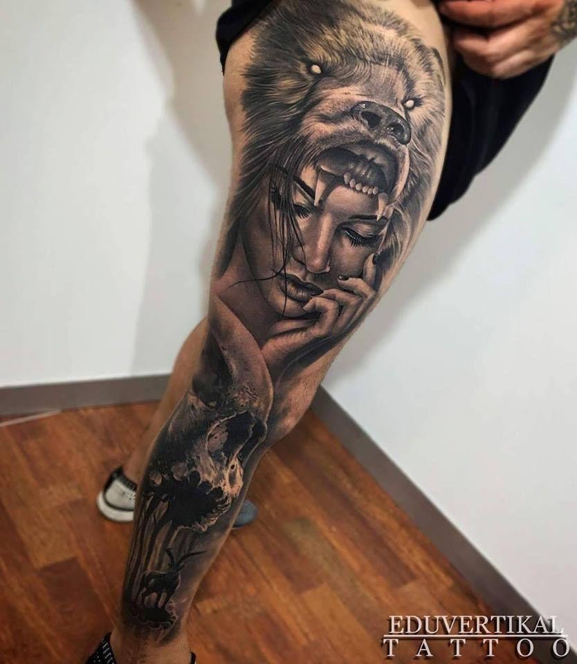 Bein mann tattoo Tattoo Bein