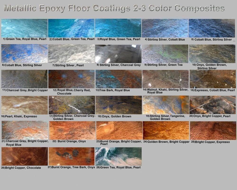Details About Metallic Mica Epoxy Concrete Garage Floor