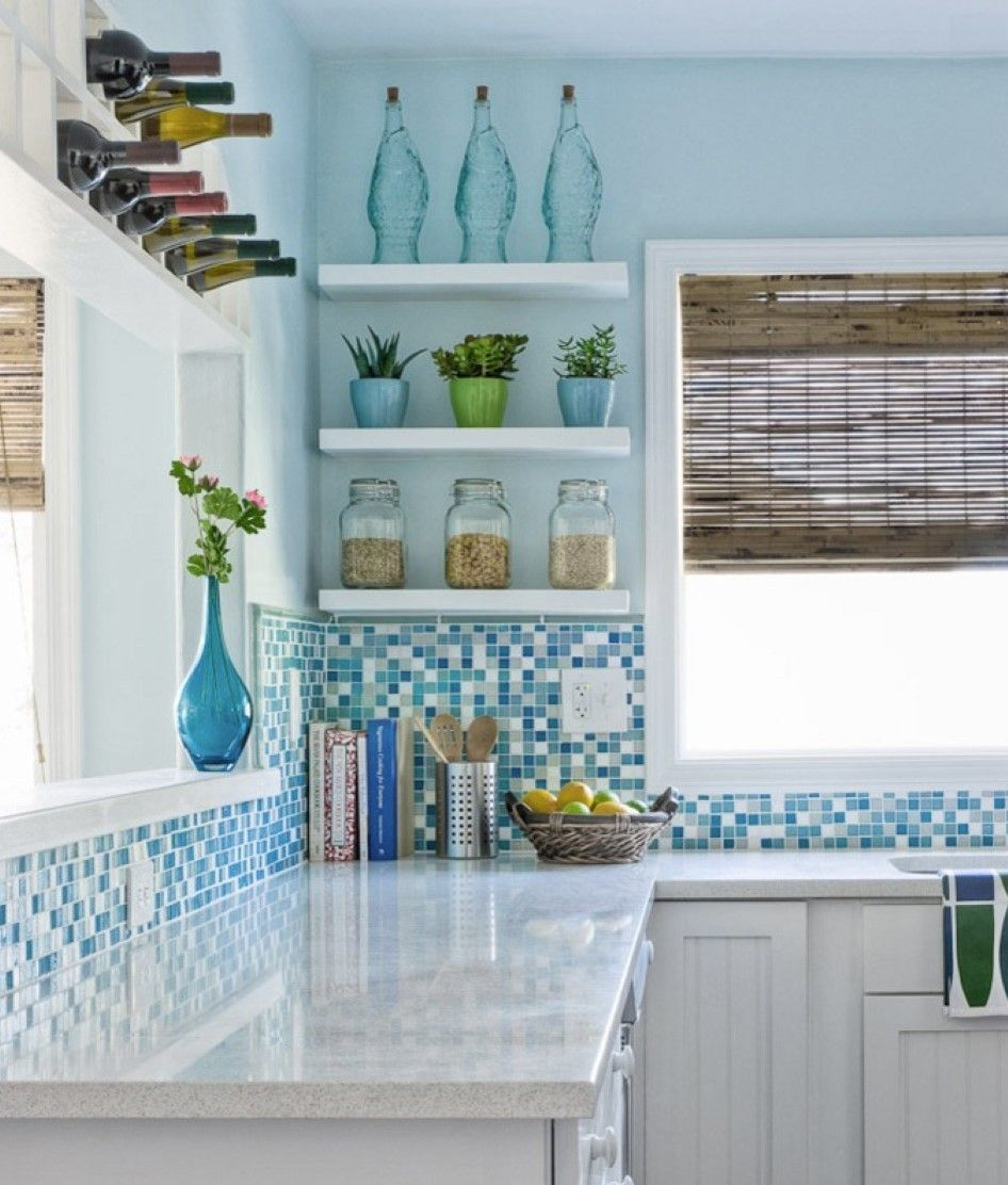 exciting-turquoise-kitchen-backsplash-design-ideas-with-wooden ...