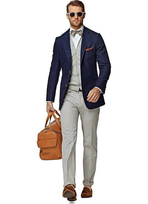 Jacket Blue Plain Havana C753 Suitsupply Fashion I Love