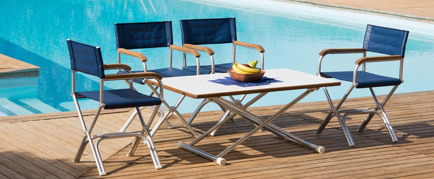 Attirant Teak Deck Chairs For Boats