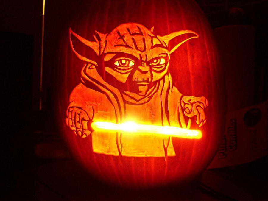 pumpkin template yoda  6 Pumpkin Decorating Ideas | Pumpkin decorating, Pumpkin ...