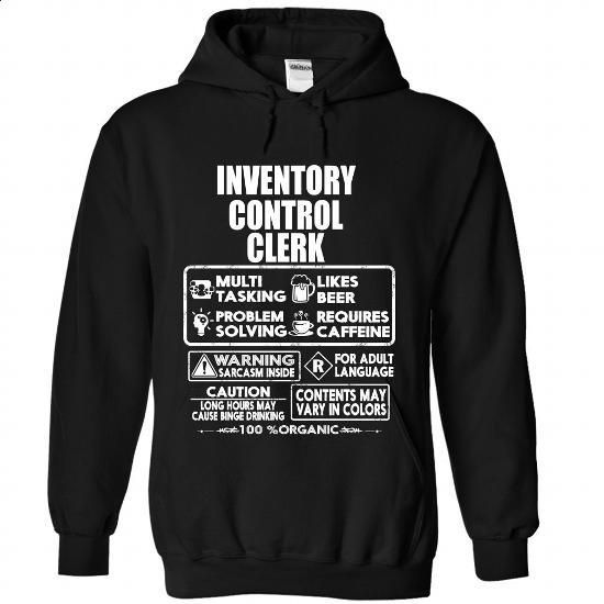 inventory control clerk custom t shirt summer tee cute tshirt - Inventory Control Clerk