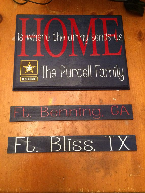 military duty stationfamily wooden sign on etsy 2500