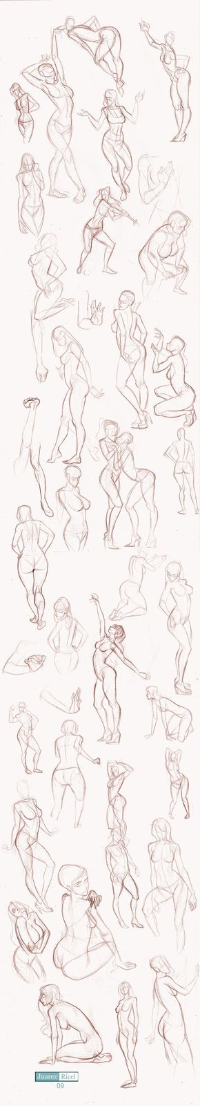 Tuto-Sketch: Estudio de la mujer   Dibujo   Pinterest   De las ...