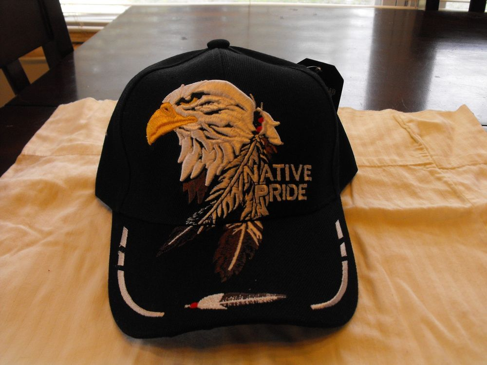 49326dd5784 Black Native Pride eagle head