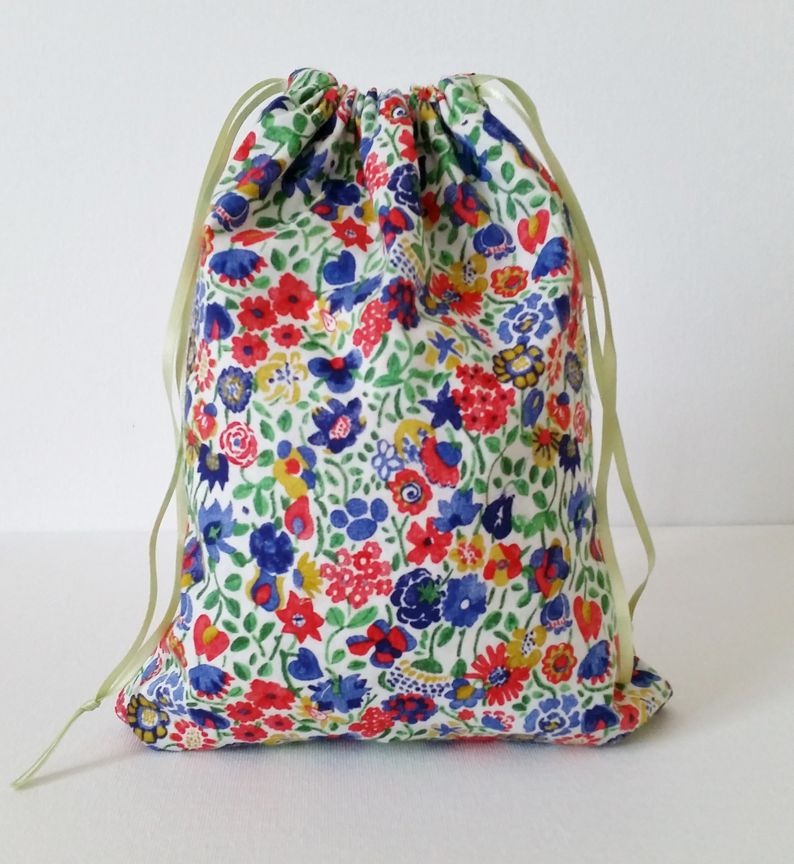 Reversible Drawstring Bag Tutorial | Sewing Projects | Pinterest ...