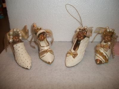Free Victorian Ornaments | Victorian shoe Christmas ornaments FREE-SHIPPING - Ad#: 3418442 ...