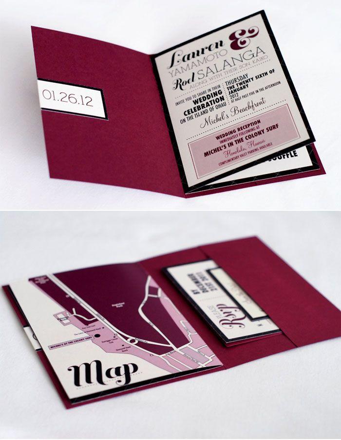Destination Wedding Invitation Booklets The Most Unique