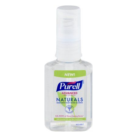 Pack Of 24 Purell Advanced Hand Sanitizer Naturals Gel 2 Fl Oz