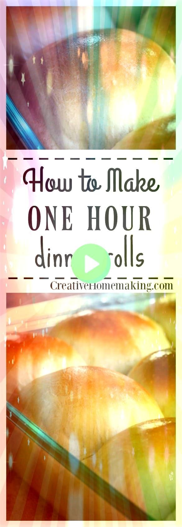 Hour Dinner Rolls One Hour Dinner Rolls One Hour Dinner Rolls 3 Amazing Recipes Using Homemade Bread Dough posted just for the sticky buns Perfectly soft homemade dinner...