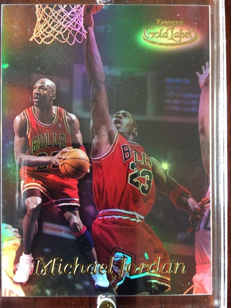 Michael Jordan 9899 Topps Gold Label Rare Mint Insert