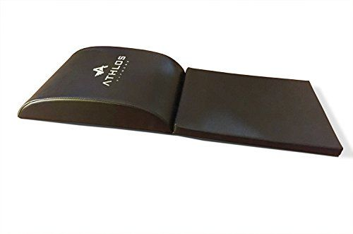 Amazon Com Athlos Fitness Abdominal Trainer Exercise Mat With Tailbone Protecting Antislip Pad Sports Outdoors Mat Exercises Ab Trainer Abs Workout