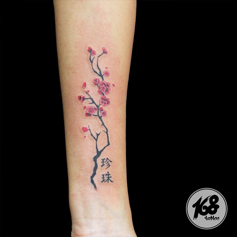 Cherry Blossom Tattoo Blossom Tattoo Cherry Blossom Tattoo