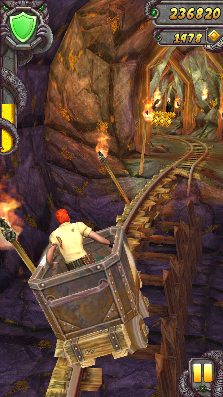 Temple Run 2 Mod Game Unlimited Coins And Life Teckmod Pinterest