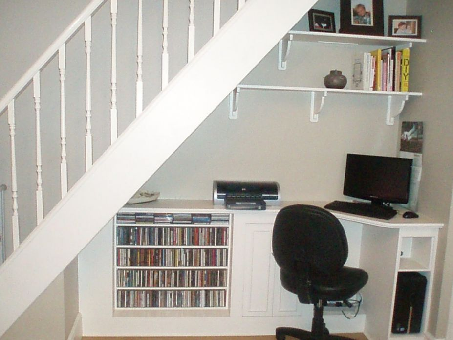 storage solutions for office. Home Office : Pretty Storage Solutions Under Staircase For N