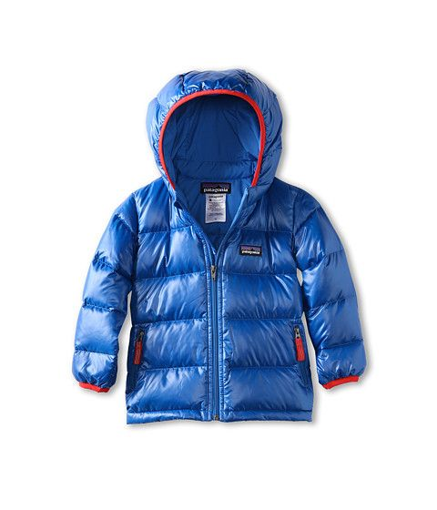 26ff5cc07a38 Patagonia Kids Baby Hi-Loft Down Sweater Hoody (Infant Toddler ...