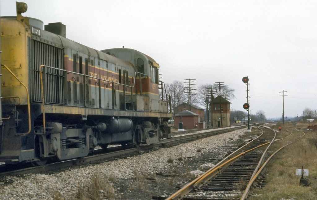 Pin by Thomas Nagel on EL/DLW/Erie Railroad in 2020