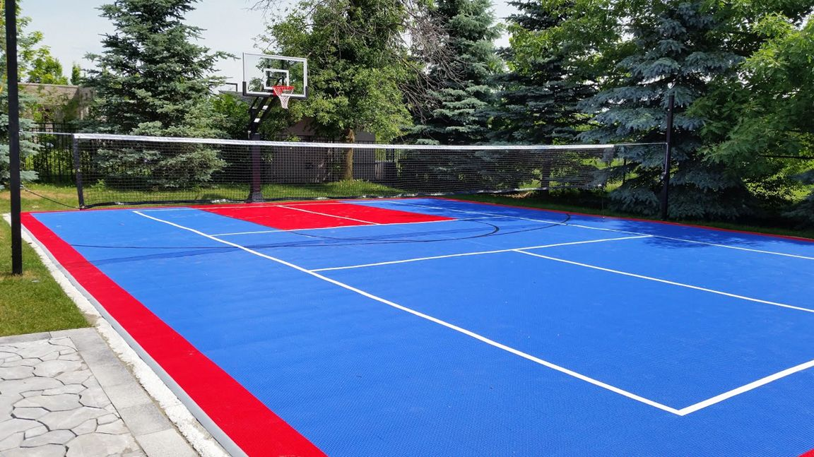 36x50 MultiGame Court will keep the whole family active