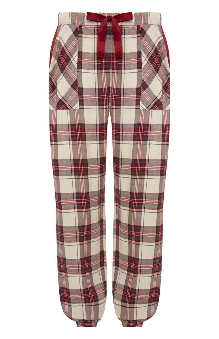 Mens Modern Casuals Checked Pyjama Trouser Bottoms Sleepwear Nightwear