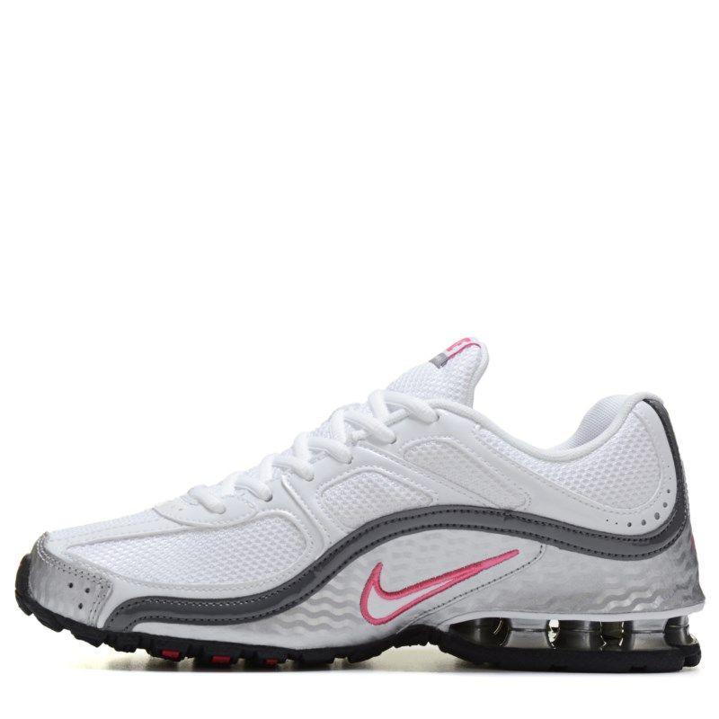 89f6e3f376fc1 Nike Women s Reax Run 5 Running Shoes (White Grey Spark)