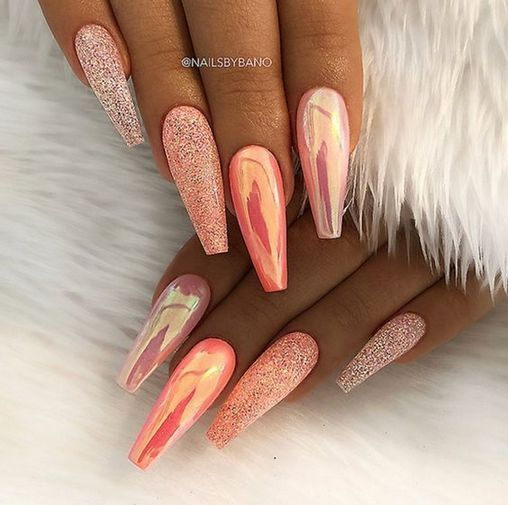 32 Fall Nails Colors Acrylic Coffin That Will Motivate You Coffin Nails Long Coffin Nails Designs Gorgeous Nails