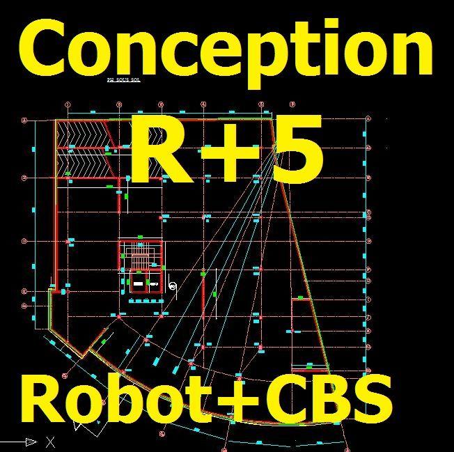 Conception+d27un+bC3A2timent+administratif+avec+plans+dwg+ - logiciel gratuit plan maison 2d