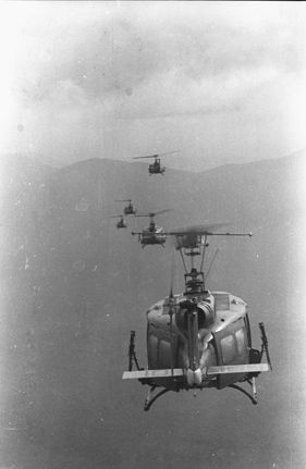 Vietnam Air Force personnel of the 211th Helicopter Squadron