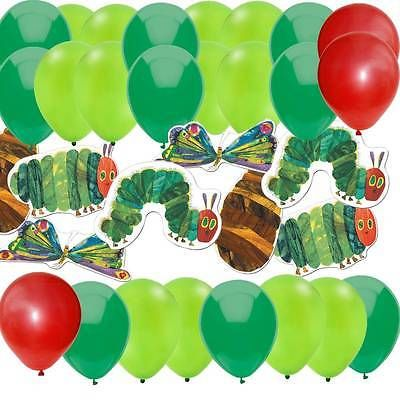 84 pc Very Hungry Caterpillar Party Shower Kit: 36 Balloons & 48 Deco Cut-Outs in Home & Garden,Greeting Cards & Party Supply,Party Supplies | eBay