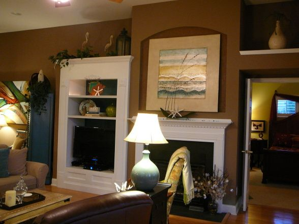 Erica brand posted sherwin williams portobello to her for the home postboard via juxtapost bookmarklet also paint colors pinterest rh