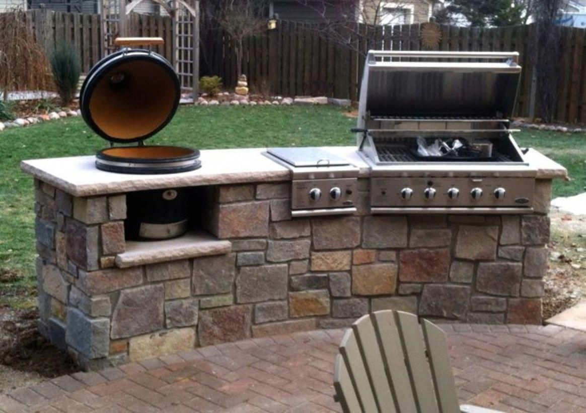 Determine Even More Relevant Information On Outdoor Kitchen Designs Layout Look Into Our Internet Site Outdoor Gas Grills Outdoor Grill Area Outdoor Kitchen
