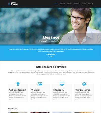 Business responsive bootstrap template free html website business responsive bootstrap template accmission Choice Image