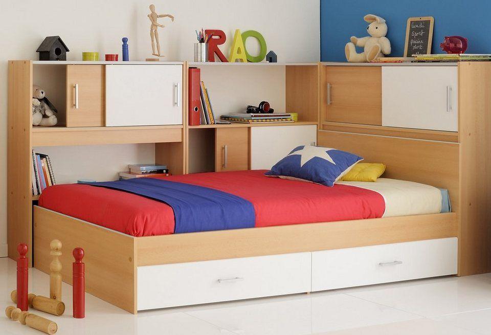 Parisot Bett Snoopy 1 5 Tlg Bett Inkl 3 Anstellregalen Und