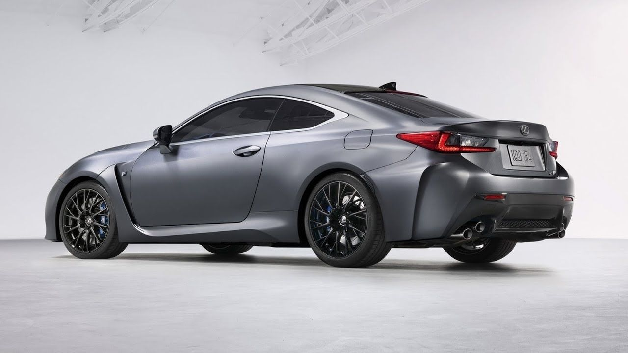 2018 Lexus RC F 10th Anniversary Special Edition
