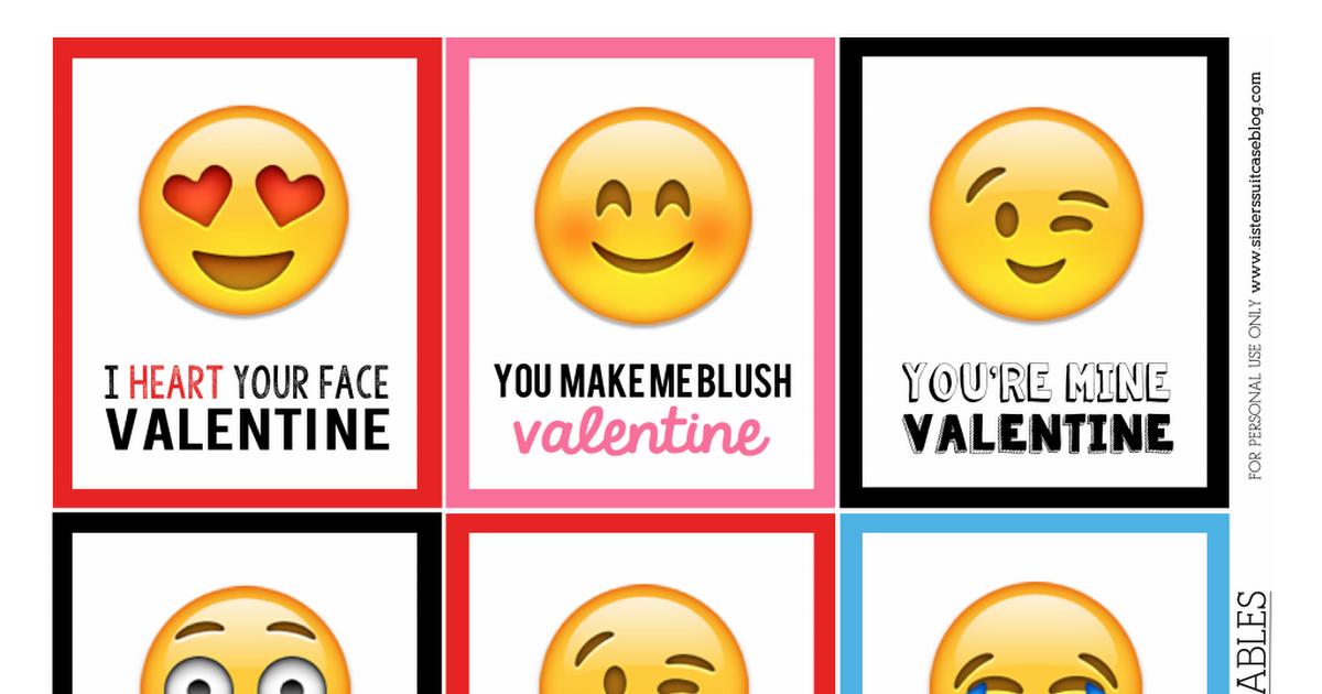 Emoji Valentines Psd Candyland