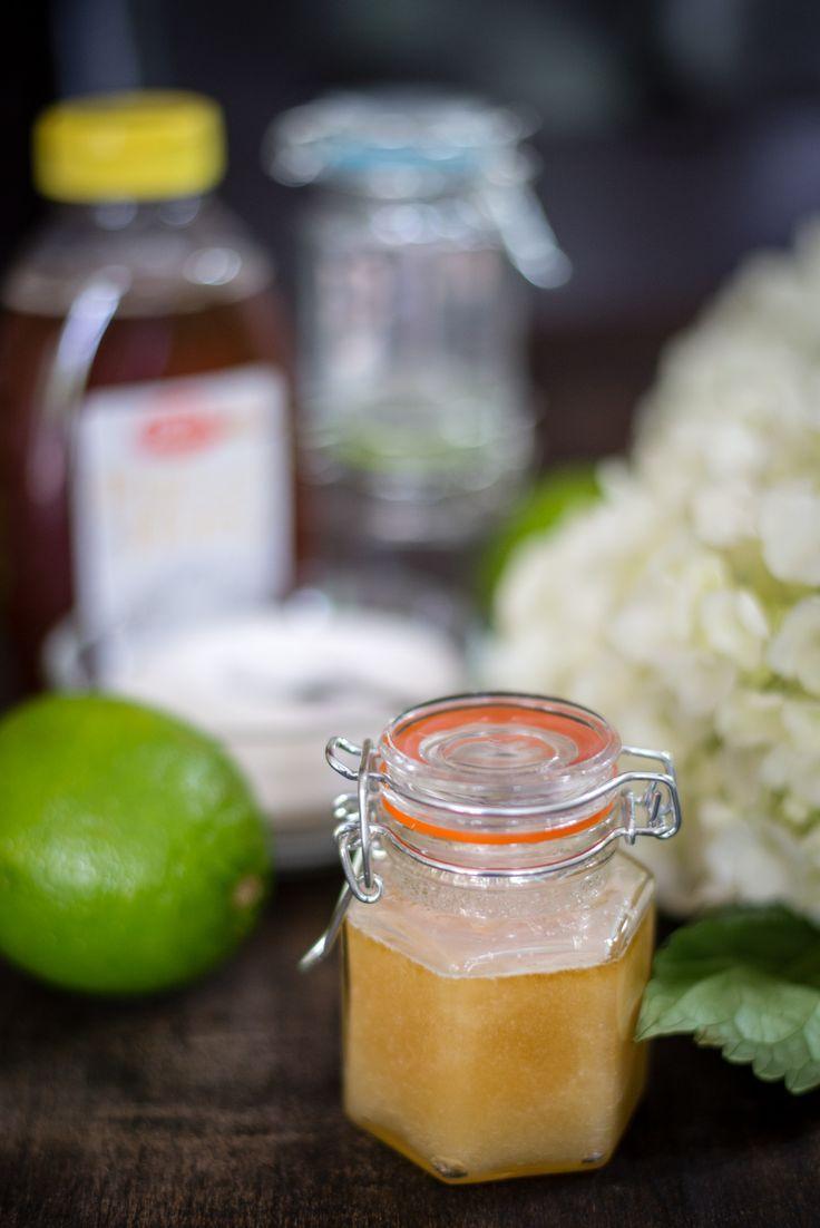 Diy honey and lime sugar lip scrub sugar scrub for face