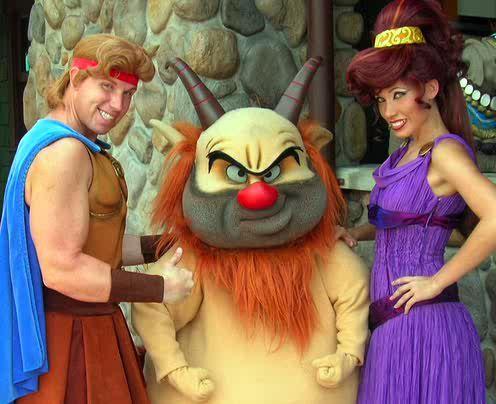 Hercules Meg And Phil Disney Characters Costumes Disney